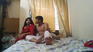 Newly Married Desi Couple Honeymoon