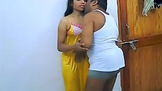 newly married Indian couple self shoot video
