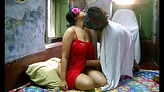 Savita bhabhi in red lingerie fucked hard by ashok