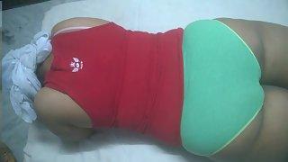 Indian Bhabhi In Panty Full Body Massage