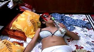 Shilpa bhabhi drinking vodka and fucked hard