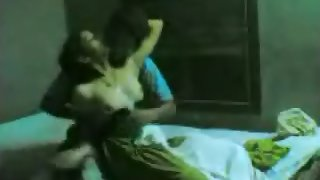 Mature desi couple enjoying in their bedroom