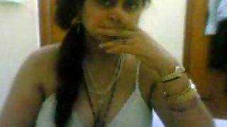 malika bhabhi in sexy white bra showing off