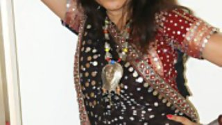 Kavya in her gujarati outfits chania cholie
