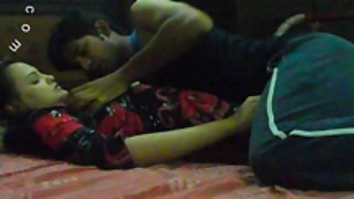 Sonia in bed getting seduced by sunny late night sex