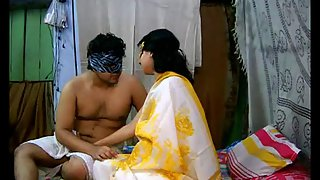 Savita bhabhi in yellow sari gettinf fucked in various style