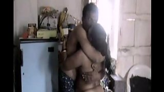 Indian couplr homemade foreplay
