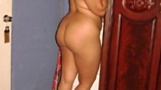 hot Indian girl posing naked on camera